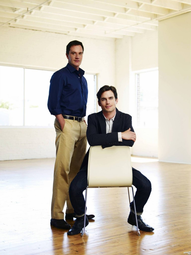 Tim DeKay and Matt Bomer star in USA's new series, White Collar