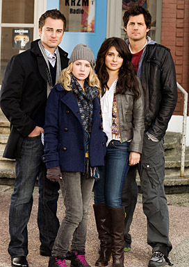 Shiri co-stars in Life UneXpected with Britt Robertson, Kristoffer Polaha and Kerr Smith, debuting January 18th on the CW.