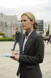 Maggie Lawson as Det. Juliet on USA Network's PSYCH
