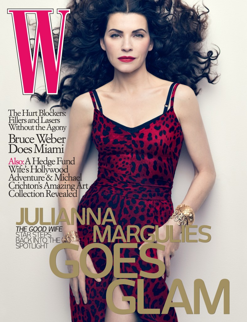 Julianna Margulies on the cover of W Magazine, May 2010
