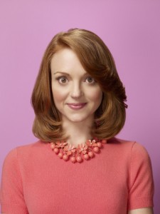 Photo of Jayma Mays as Emma on Glee