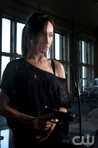 Maggie Q stars as Nikita on the CW