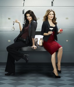 Angie Harmon and Sasha Alexander star in Rizzoli & Isles on TNT