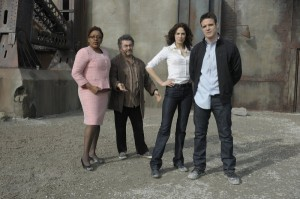 The cast of Warehouse 13
