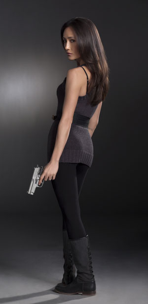 Maggie Q at Nikita