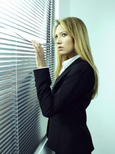 Anna Torv stars as Olivia Dunham on Fringe