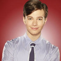 Chris Colfer in Glee