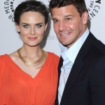 Emily Deschanel & David Boreanaz attend the Bones event at the Paley Center for Media in Los Angeles