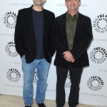 Stephen Nathan & Hart Hanson attend the Bones event at the Paley Center for Media in Los Angeles