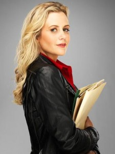 Rachael Carpani as Abby Kowalski in Lifetime's Against the Wall