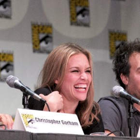 Covert Affairs panel at Comic Con