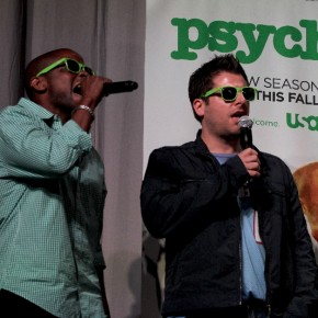 Psych at Comic Con July 2011