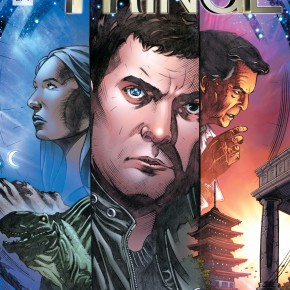 Beyond the Fringe digital comic series with Joshua Jackson