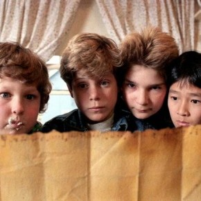 JEFF COHEN, SEAN ASTIN, COREY FELDMAN, JONATHAN KE QUAN