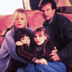 BONNIE HUNT, BRADLEY PIERCE, KIRSTEN DUNST, ROBIN WILLIAMS