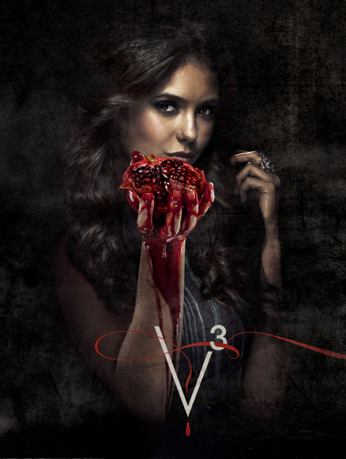 THE VAMPIRE DIARIES: Bloody (and Fruity?) New Posters for Season 3
