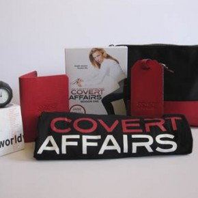 Covert Affairs Jet Set Prize Pack