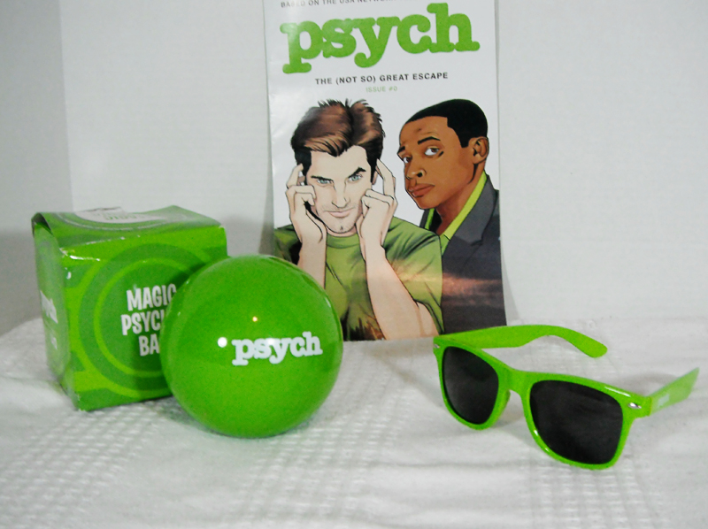 Enter to Win a PSYCH Prize Pack!