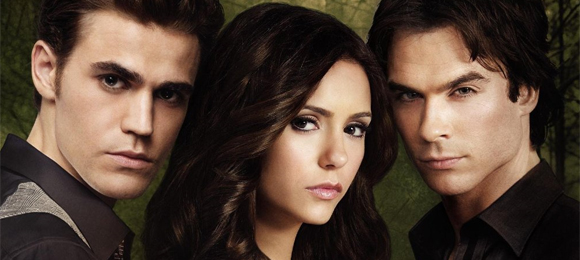THE VAMPIRE DIARIES: Stefan and Elena Promos