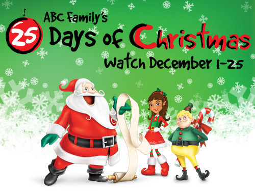 25 DAYS OF CHRISTMAS: ABC Family's Annual Holiday Treat to Us!