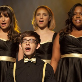 GLEE - New Directions perform at Regionals in the On My Way; Winter Finale episode