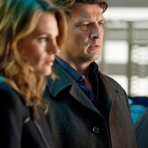 "CASTLE - ""Linchpin"" - NATHAN FILLION, STANA KATIC"