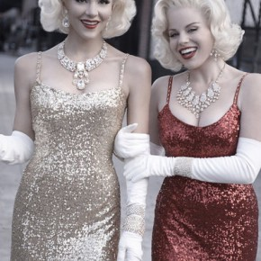 SMASH -- Season:1 -- Pictured: (l-r) Katharine McPhee as Karen Cartwright, Megan Hilty as Ivy Lynn