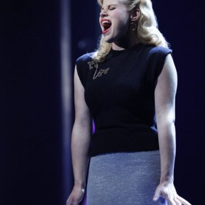 SMASH -- &quot;Callbacks&quot; Episode 102 -- Pictured: Megan Hilty as Ivy Lynn