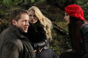 "ONCE UPON A TIME - ""Red-Handed"" - JOSH DALLAS, JENNIFER MORRISON, MEGHAN ORY"