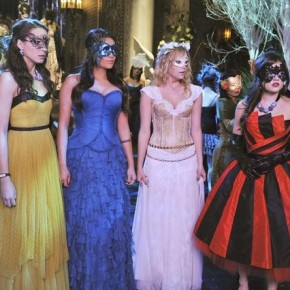 "PRETTY LITTLE LIARS - ""unmAsked"" - LUCY HALE, TROIAN BELLISARIO, ASHLEY BENSON, SHAY MITCHELL"