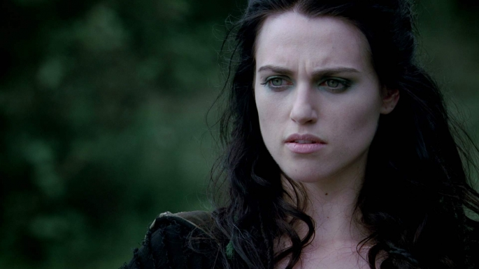"Morgana (Katie McGrath) Does Not Immediately Think, ""YES."""