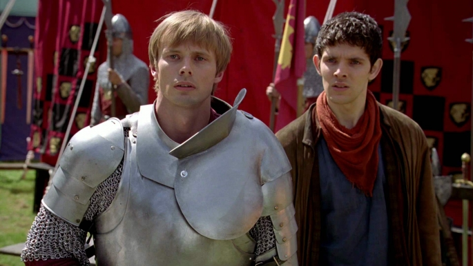 Arthur and Merlin (Colin Morgan)