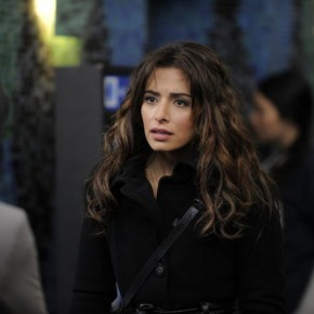 "FAIRLY LEGAL -- Episode 202 ""Start Me Up"" -- Pictured: Sarah Shahi as Kate Reed"