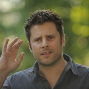 "PSYCH -- ""Santabarbara Town"" -- Pictured: James Roday as Shawn Spencer"