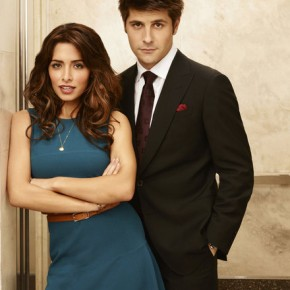 FAIRLY LEGAL -- Season:2 -- Pictured: (l-r) Sarah Shahi as Kate Reed, Ryan Johnson as Ben Grogan