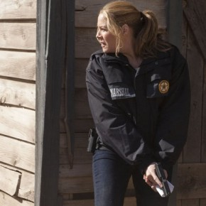"IN PLAIN SIGHT -- ""Reservations, I've Got a Few"" Episode 503 -- Pictured: Mary McCormack as Mary Shannon"