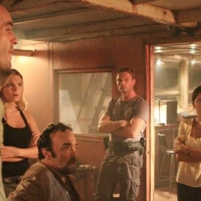 "THE RIVER - ""Row, Row, Row Your Boat"" -- PAUL BLACKTHORNE, ELOISE MUMFORD, DANIEL ZACAPA, THOMAS KRETSCHMANN, PAULINA GAITAN"