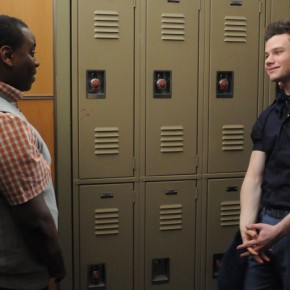 GLEE: Alex Newell, Chris Colfer
