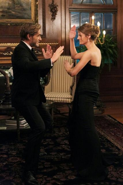 "CASTLE - ""The Limey"" - BRETT TUCKER, STANA KATIC"