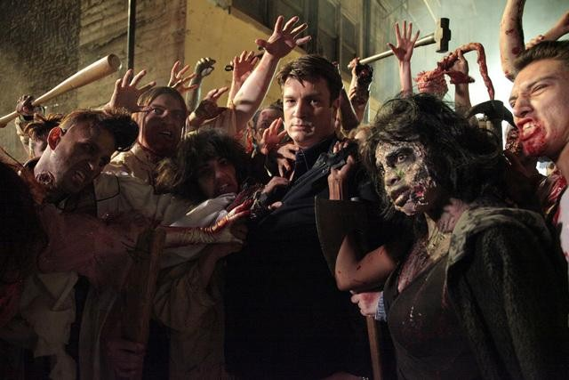 "CASTLE: Behind the Scenes Photos from ""Undead Again"""