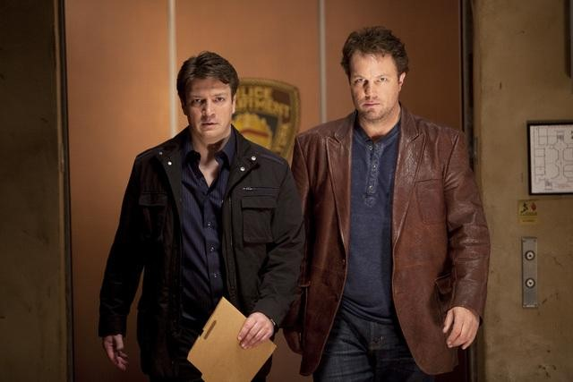 "CASTLE: 6 Sneak Peeks at ""Headhunters"" with Adam Baldwin"