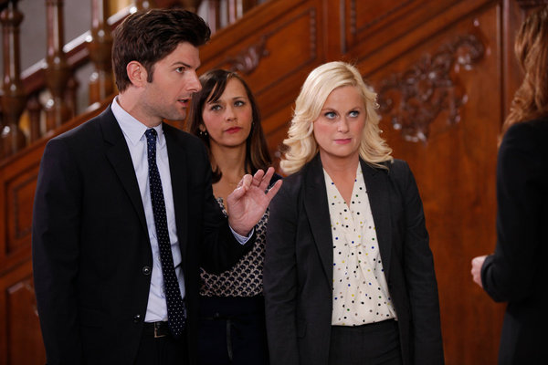 PARKS AND RECREATION: Celebrate the Series Return with this Gag Reel