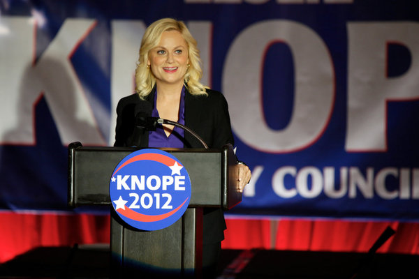 "RECAP: Parks & Recreation ""The Debate"" & ""Bus Tour"""