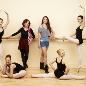 EMMA DUMONT, KAITLYN JENKINS, KELLY BISHOP, SUTTON FOSTER, BAILEY BUNTAIN, JULIA GOLDANI TELLES
