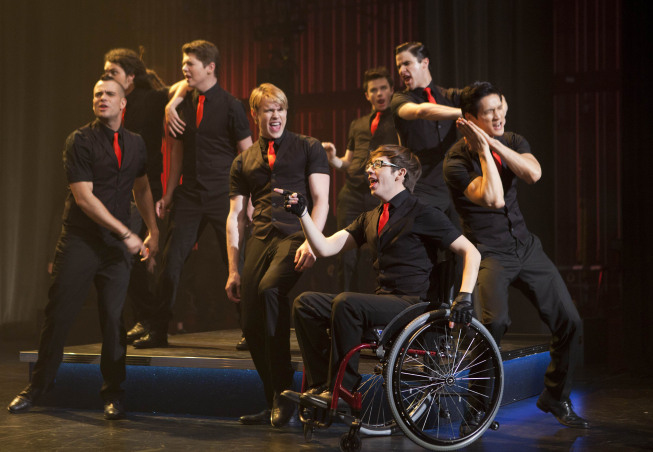 GLEE: Props and Nationals