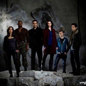 Continuum Cast - Lexa Doig, Roger Cross, Victor Webster, Rachel Nichols, Erik Knudsen and Steven Lobo