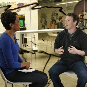 ROBIN ROBERTS, MARK ZUCKERBERG