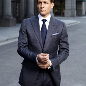 SUITS -- Season: 2 -- Pictured: Gabriel Macht as Harvey Specter