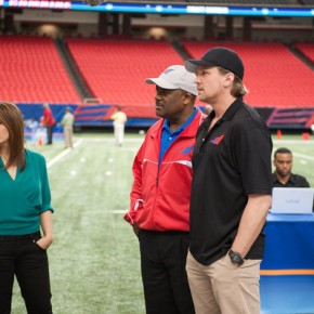 "NECESSARY ROUGHNESS -- ""Wide Deceiver"" Episode 203"