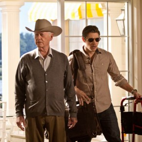Dallas102_11_Larry Hagman and Josh Henderson